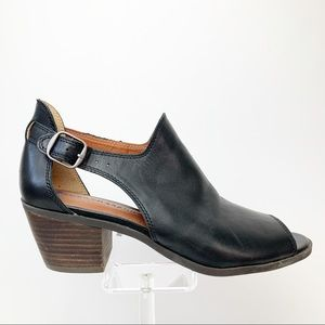 Lucky Brand Women's Barimo Open Toed Leather Shoes